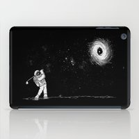 Black Hole In One iPad Case
