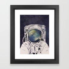 Dreaming Of Space Framed Art Print