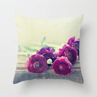 Like Royalty (Purple Ran… Throw Pillow