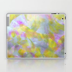 Abstract in Shimmery Pastel Colors Laptop & iPad Skin
