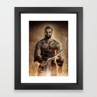 Khal Drogo Framed Art Print
