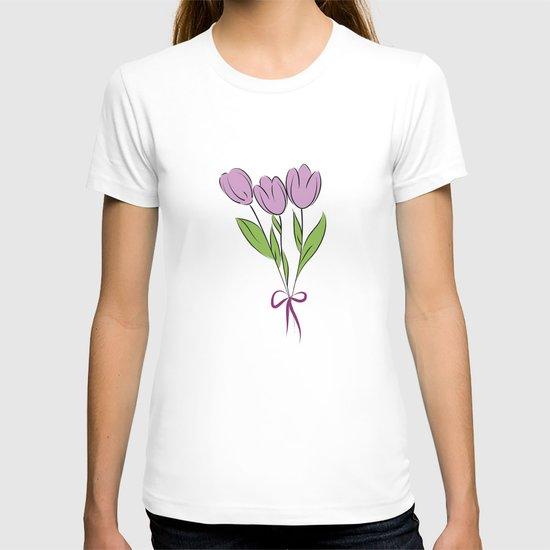 Purple Tulips T-shirt