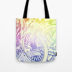 The Third Wheel Tote Bag
