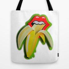 Banana Lips Tote Bag