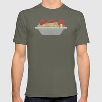 The Knitter Mens Fitted Tee Lieutenant SMALL