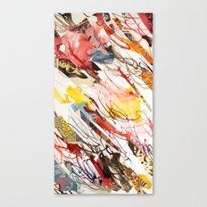comic letter 2 Canvas Print
