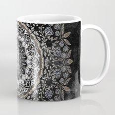 GOLD FLORAL MANDALA Mug
