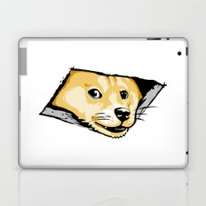Ceiling Doge Laptop & iPad Skin