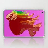The Racing Rainbow Skull… Laptop & iPad Skin