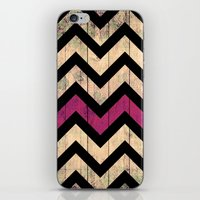Vintage Chevron iPhone & iPod Skin
