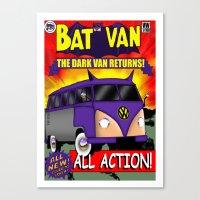Batvan Canvas Print
