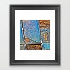 Window Shapes Framed Art Print