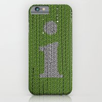iPhone & iPod Case featuring Winter clothes II. Letter i. by Studio Caravan