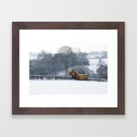 Derelict Barn Framed Art Print