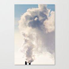 Majestic Smoke Pollution Canvas Print