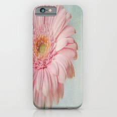 Aqua Gerbera Slim Case iPhone 6s