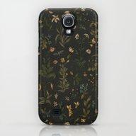 Old World Florals Galaxy S4 Slim Case