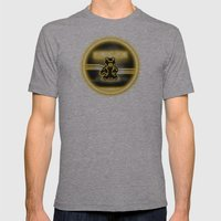 BRAUN - The Bearginning Mens Fitted Tee Athletic Grey SMALL