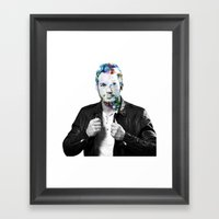 Chris Pratt Framed Art Print