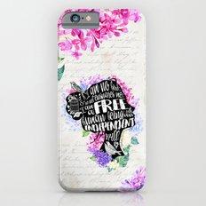 Jane Eyre - No Bird iPhone 6 Slim Case
