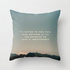 Stubborn Love Throw Pillow