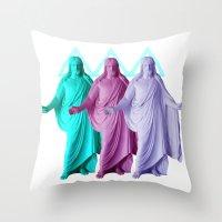 ◅ Trinity  ▻  Throw Pillow