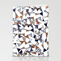 Triangles, Triangles, Tr… Stationery Cards