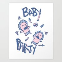 Baby Party Art Print