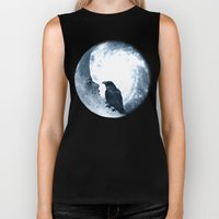 The Crow And Its Moon. (… Biker Tank