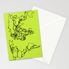 Sovereign Map Stationery Cards