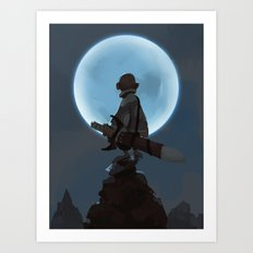 Child of Night Art Print