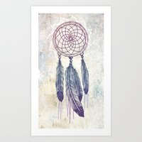 Catching Your Dreams Art Print