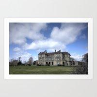 The Breakers Mansion - Newport, RI Art Print