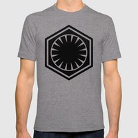 The First Order Mens Fitted Tee Tri-Grey SMALL