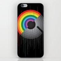 Rainbow Album  iPhone & iPod Skin