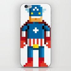 Pixelman America iPhone & iPod Skin
