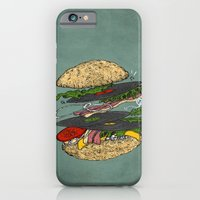 iPhone & iPod Case featuring Vinyl burger by Krikoui