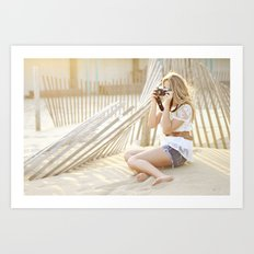 Snapshots Art Print