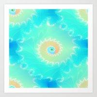 Nautilus Ocean Art Print