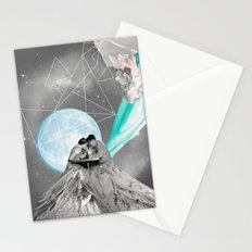 FUTURE IS BLUE Stationery Cards