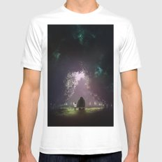 Feel Lonesome Mens Fitted Tee White SMALL
