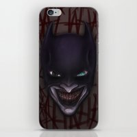 Batjoker iPhone & iPod Skin