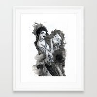 Mage Framed Art Print