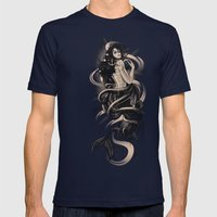 Sirena Drk Mens Fitted Tee Navy SMALL