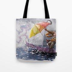 Umbrella Man Tote Bag