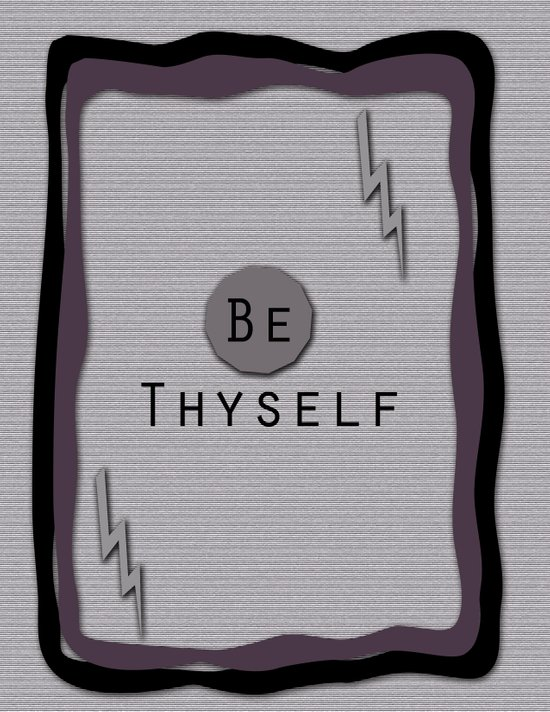 Be Thyself Art Print