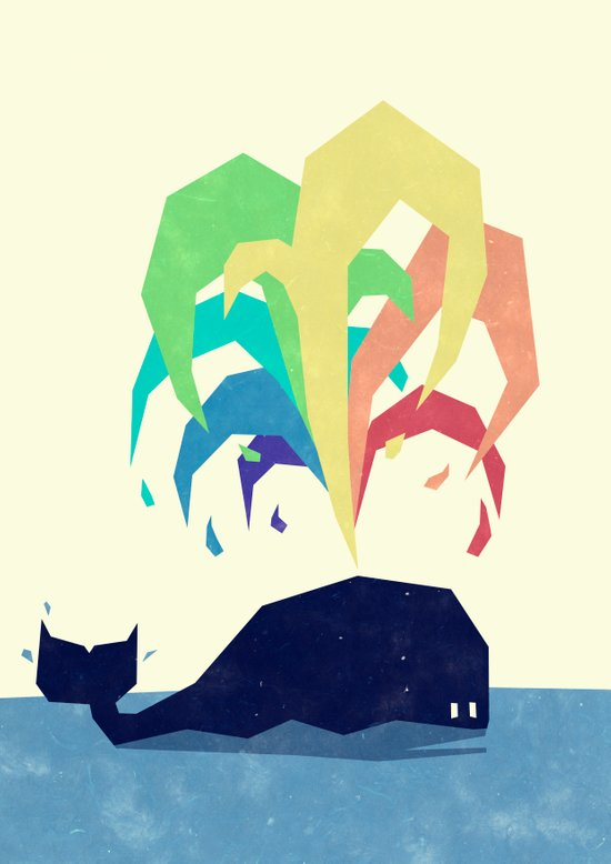 Rainbow Warrior Art Print