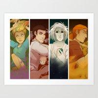 Sandman Quartet Art Print
