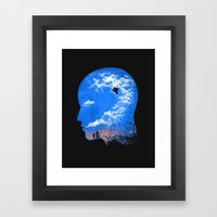 Pulling Out Some Thought… Framed Art Print