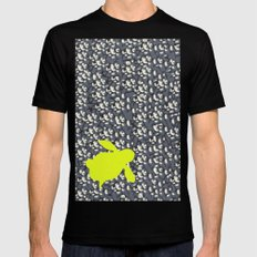 Naked Turtle SMALL Black Mens Fitted Tee